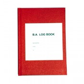 Hard Back Log Book